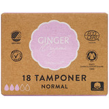 GingerOrganic Tampon, Normal