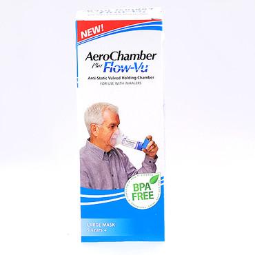 how to clean aerochamber plus flow vu