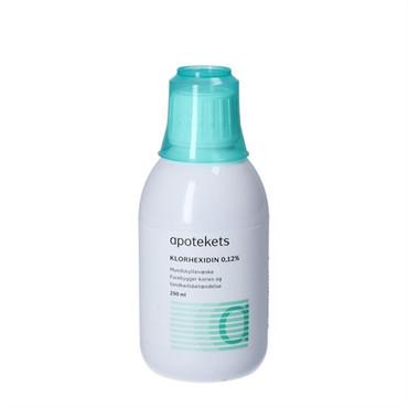 apotekets klorhexidin mundskyl