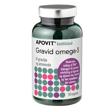 omega 3 under graviditet