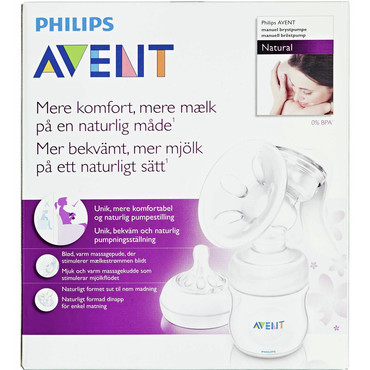 philips avent natural brystpumpe