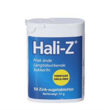 zink tabletter mod dårlig ånde