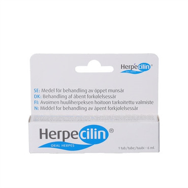 Herpecilin gel