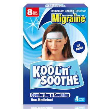 Koolnsoothe Migraine Kølende Plaster Med Menthol Til Hovedpine
