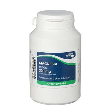 magnesia magnesium forskel