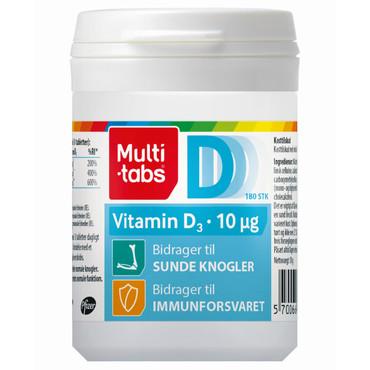 multi tabs vitamin d3