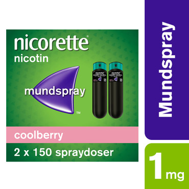 Nicorette QuickMist Mundhulespray CoolBerry