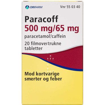 Paracoff Tabletter
