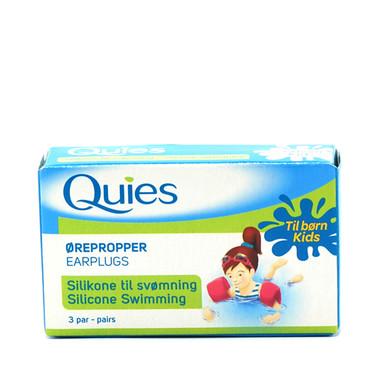 535f618b3ce Quies Silikone Ørepropper til børn - beskytter mod vand i ørene